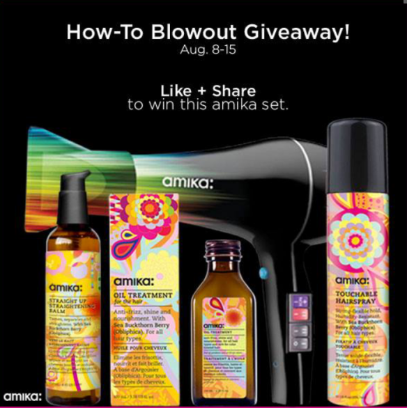 Like+Share on facebook and #howtoblowout