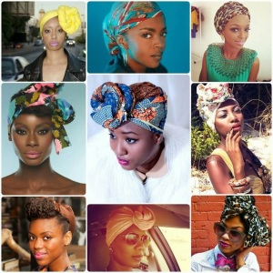 A Banging Hair Scarve will save your Life!!! I love how these girls Rocked there hair Scarves