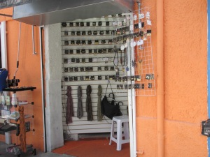 Many little small jewelry retail shops everywhere in the BARRA FUNDA are of town.