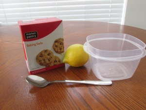 My Lemon and Baking Soda Facial Mask Review!